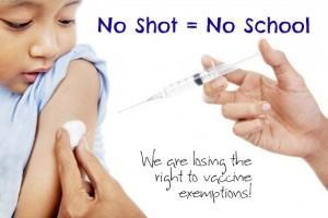 No Shot = No School